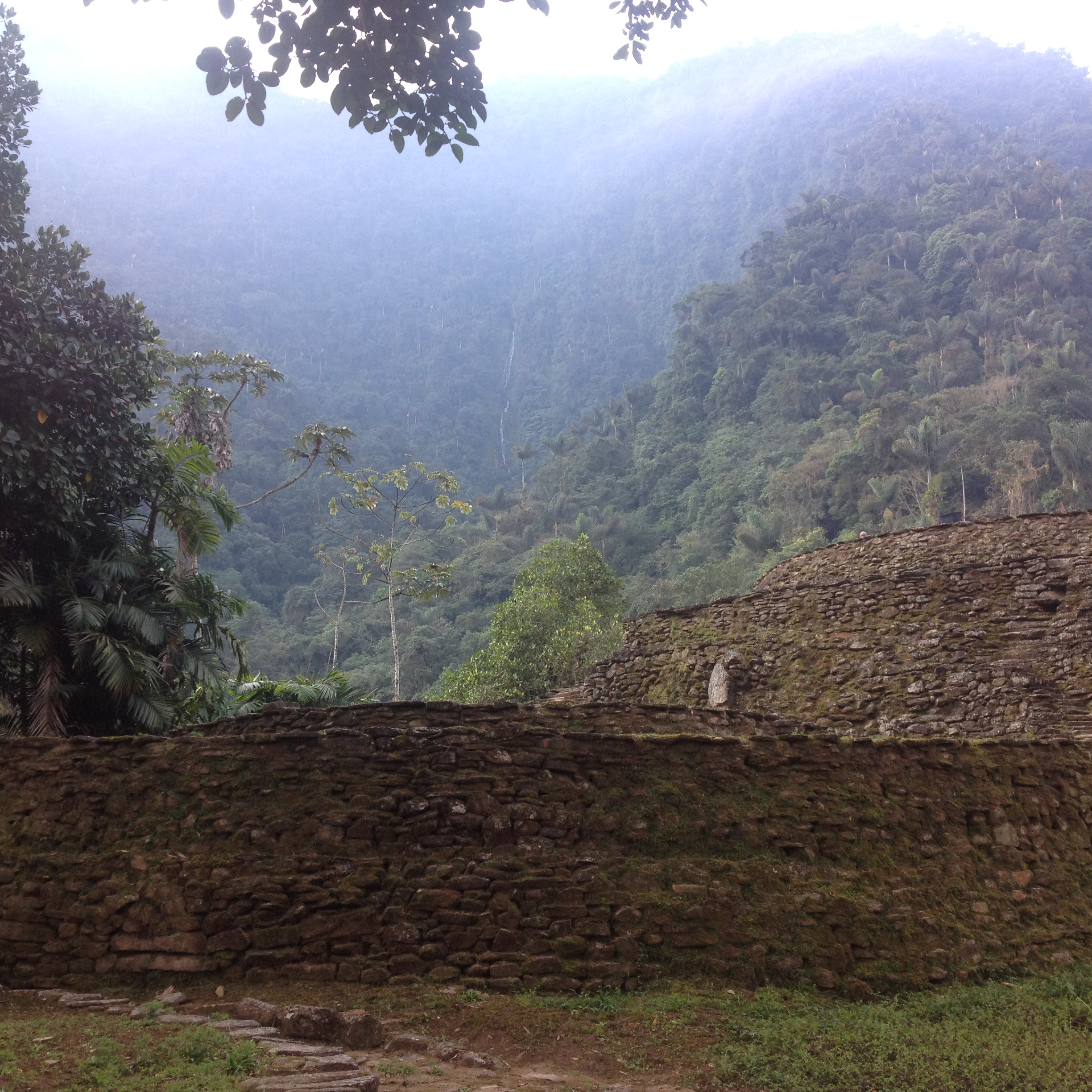 Lost City in the Mountains