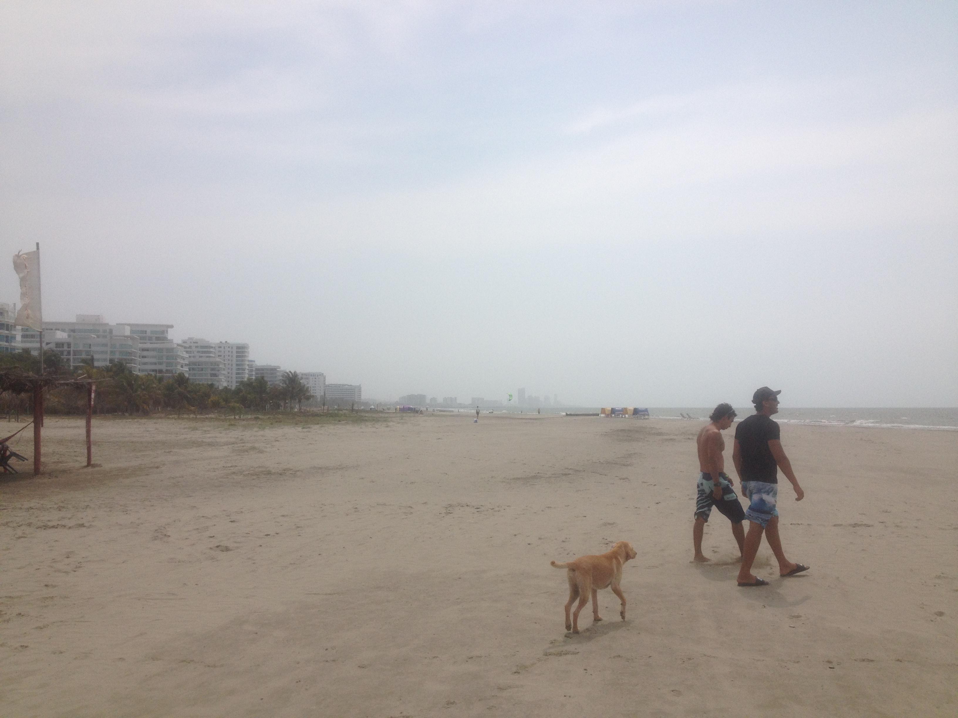 Playa y hombres