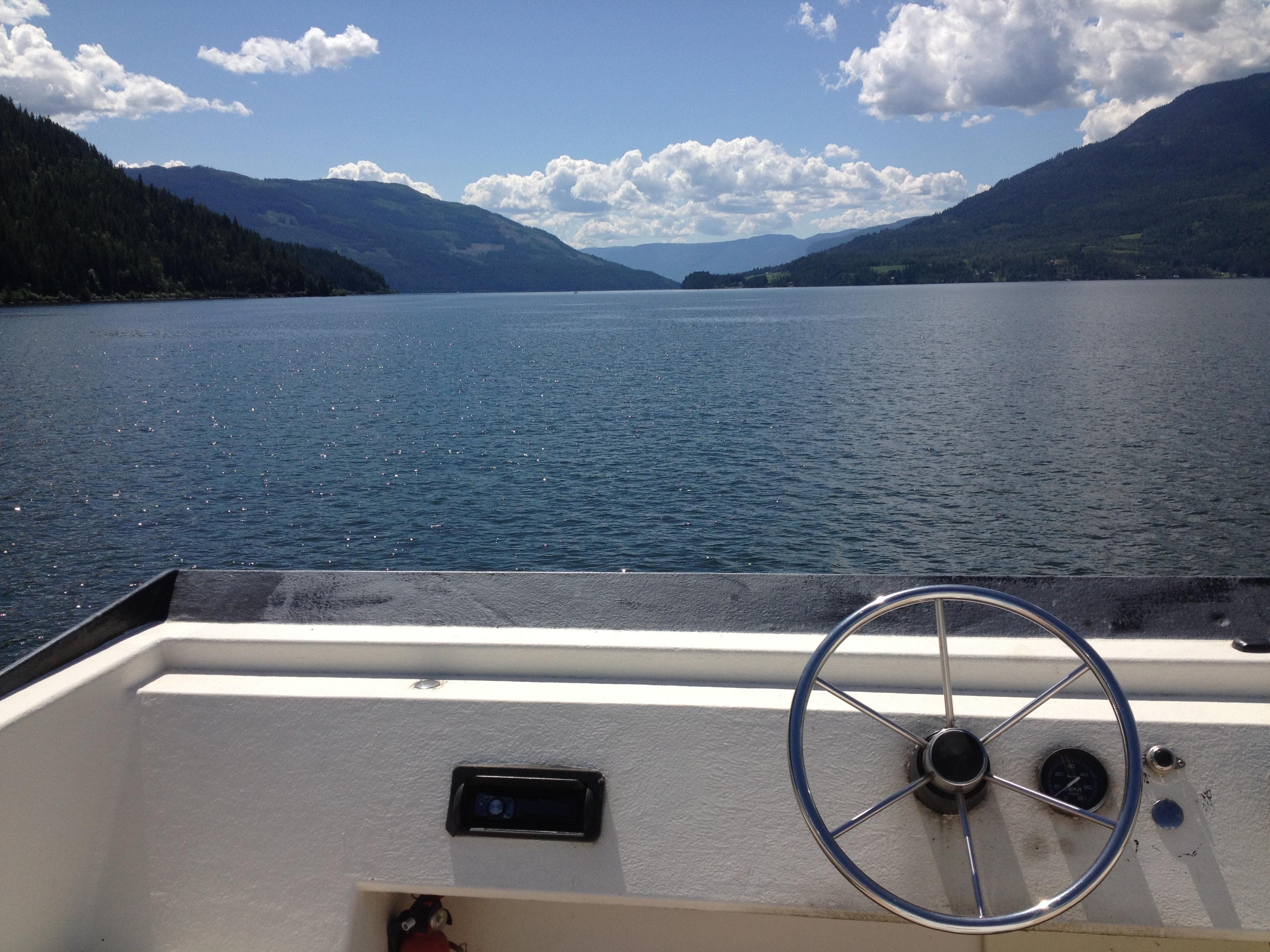 Houseboat upper helm